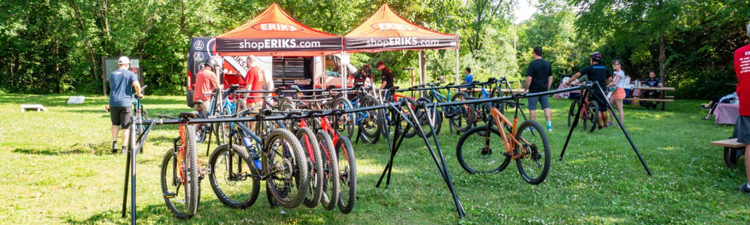 ERIK'S Demo Event With Different Bikes For the Public to Test Ride