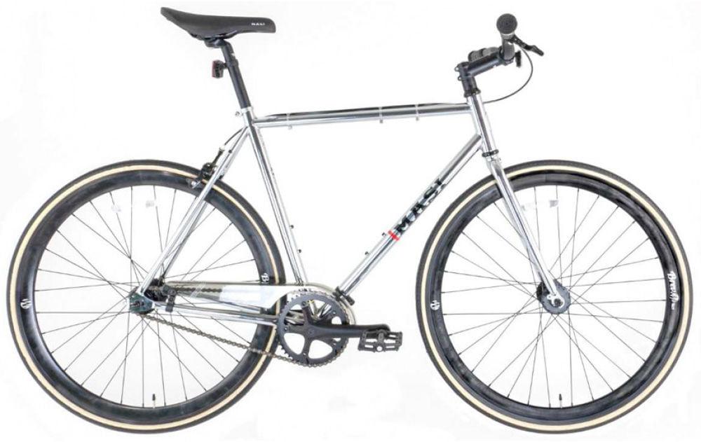 Masi 2019 Riser Single Speed Road Bike Chrome